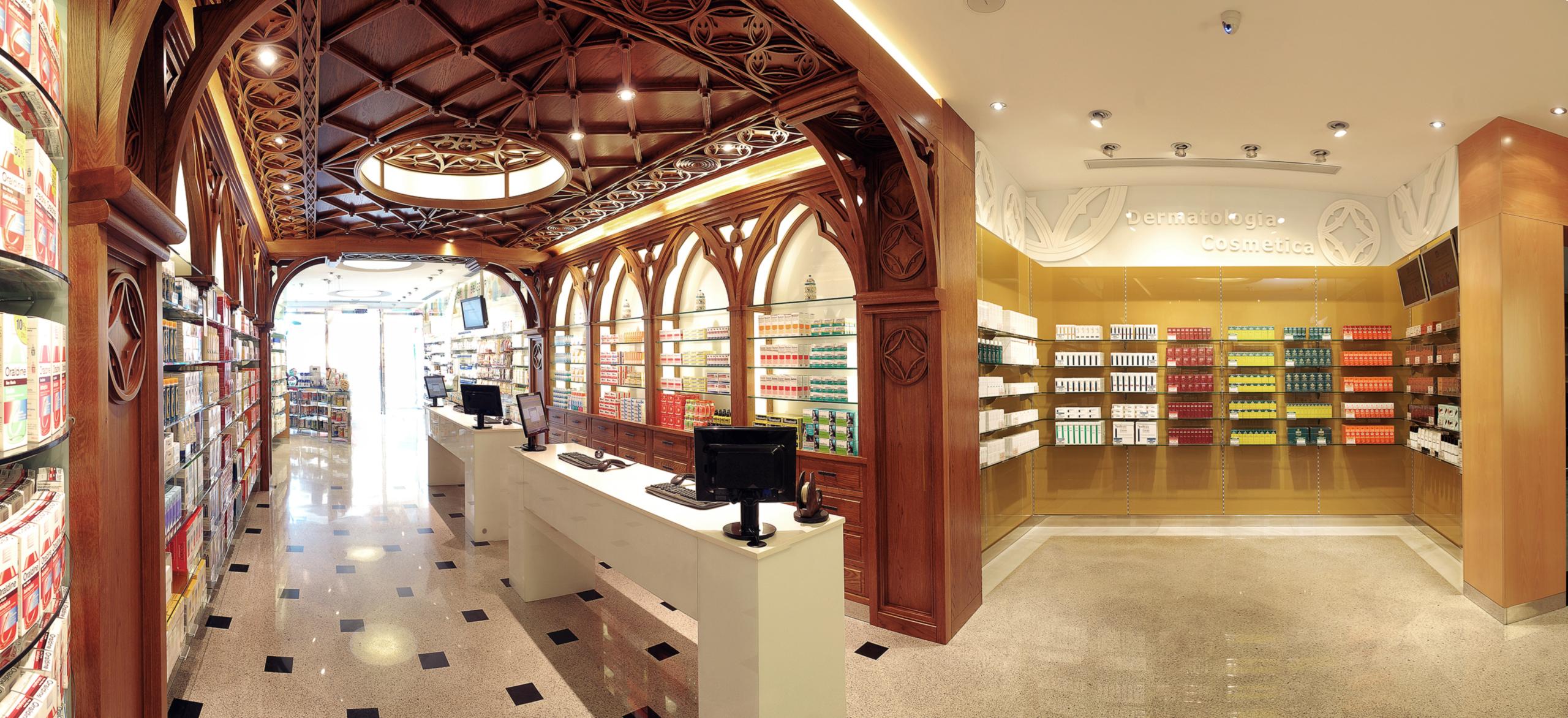 Interior Farmacia Jiménez