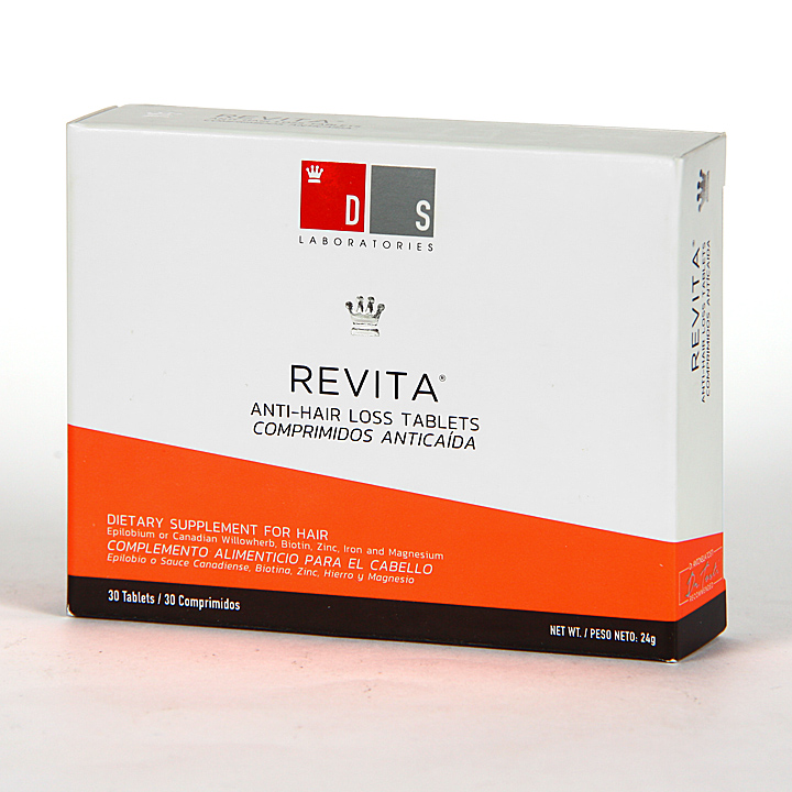 Farmacia Jiménez | Revita DS Laboratories 30 comprimidos anticaída