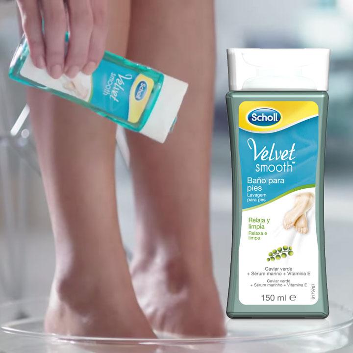 Baño de pies relajante