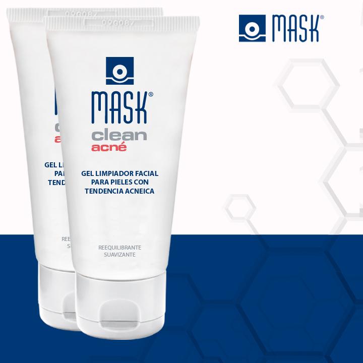 Mask Clean acné,  el gel limpiador facial