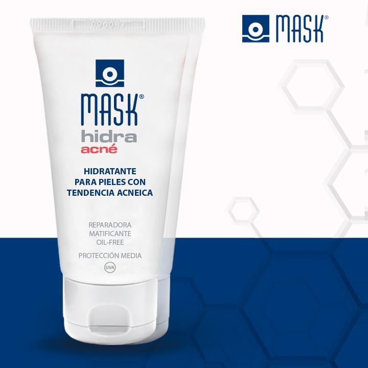 Mask Hidra, la hidratación de la piel acneica