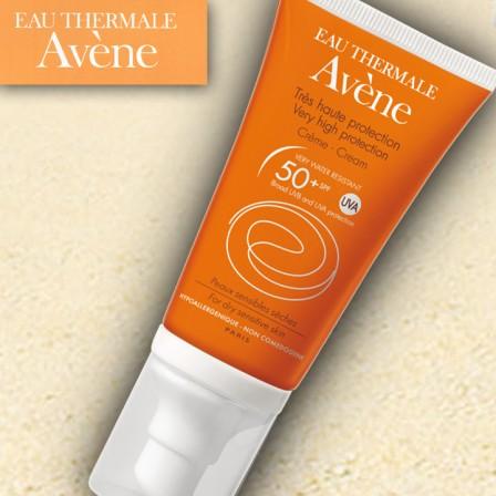 Crema Avene 50+