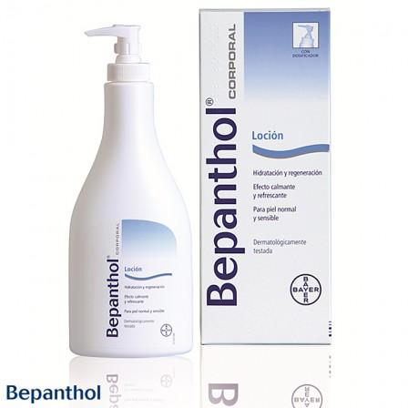 Bepanthol Loción: El efecto refrescante