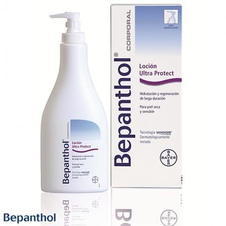 Bepanthol loción ultraprotect: Alta tecnología para tu piel