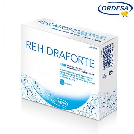 Rehidraforte, recuperación del equilibrio hídrico y electrolítico