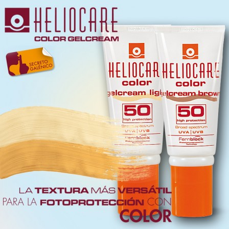 Gel Cream Brown SPF 50, Gel Cream Light SPF 50