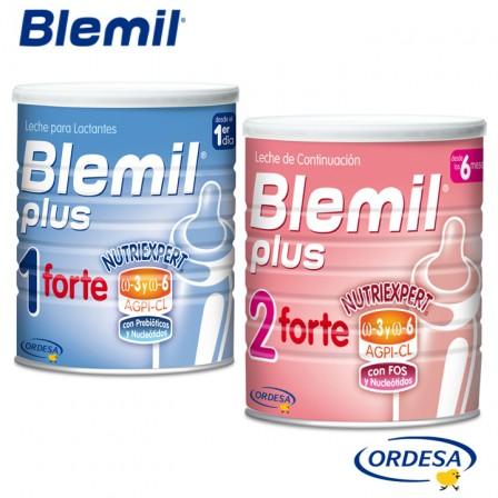 Refuerza sus defensas con Blemil Forte 1 y 2