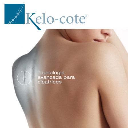 Kelo Cote gel, top en cicatrices