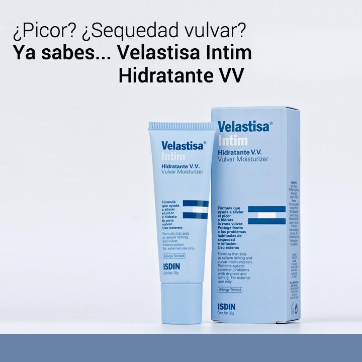 Línea VV sequedad vulvar