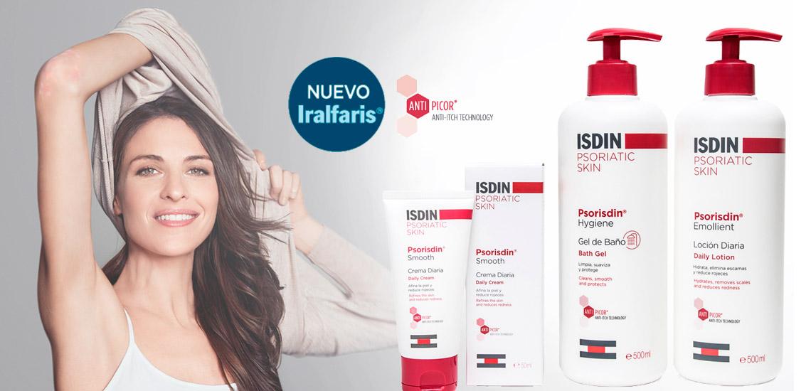 Iralfaris ahora se llama Psorisdin. Libera tu piel | Farmacia Jiménez