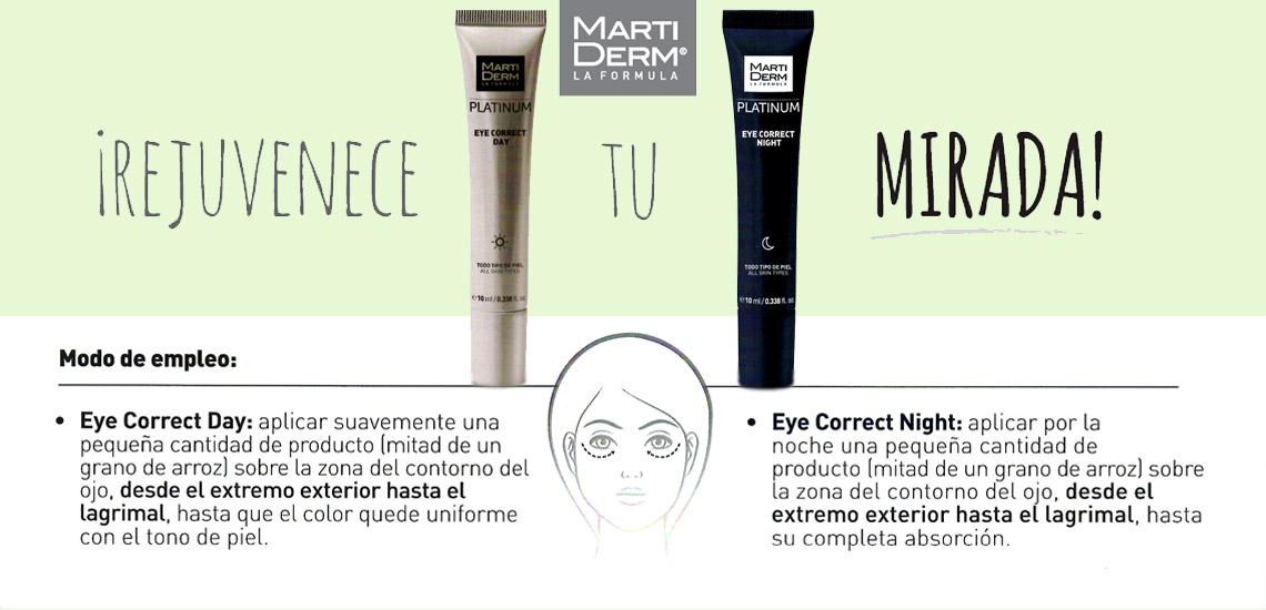 Farmacia Jimenez | Martiderm Eye Correct Platinum Contorno de ojos