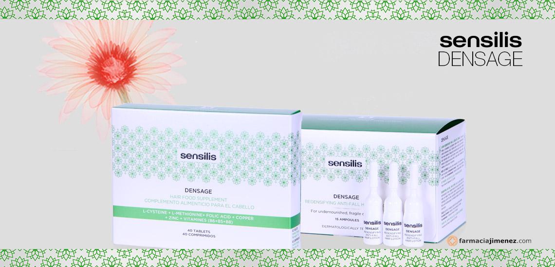 Sensilis Densage: Tratamiento antiedad y redensificante para tu cabello | Farmacia Jiménez
