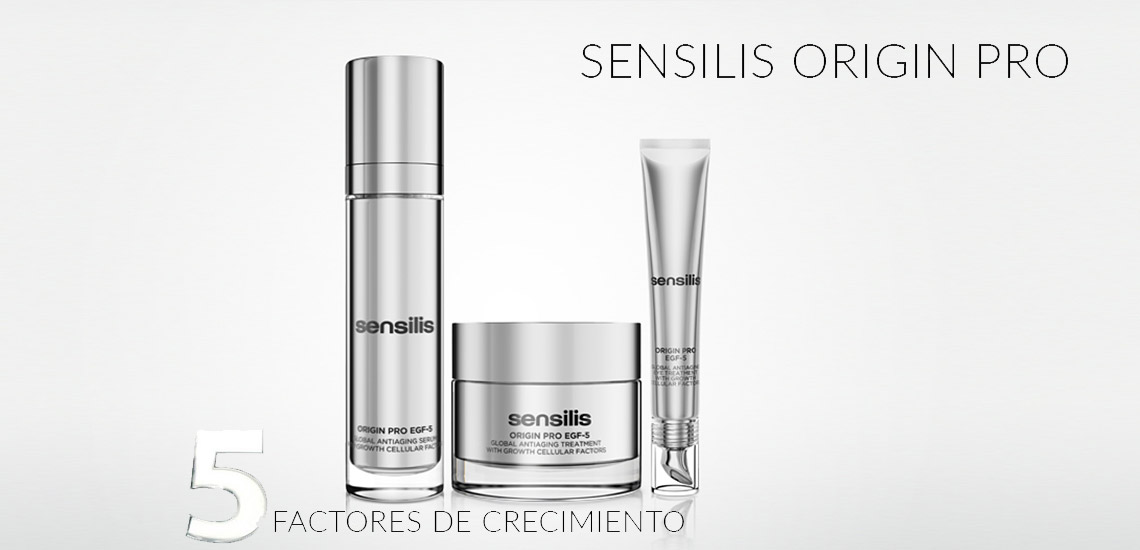 Sensilis Origin-Pro EGF 5 ¡Prolonga tu belleza original! | Farmacia Jiménez