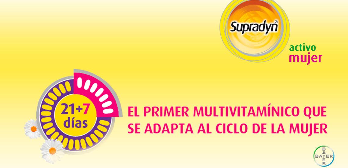 Supradyn Activo Mujer ¡Despierta tu energía!   Farmacia Jiménez