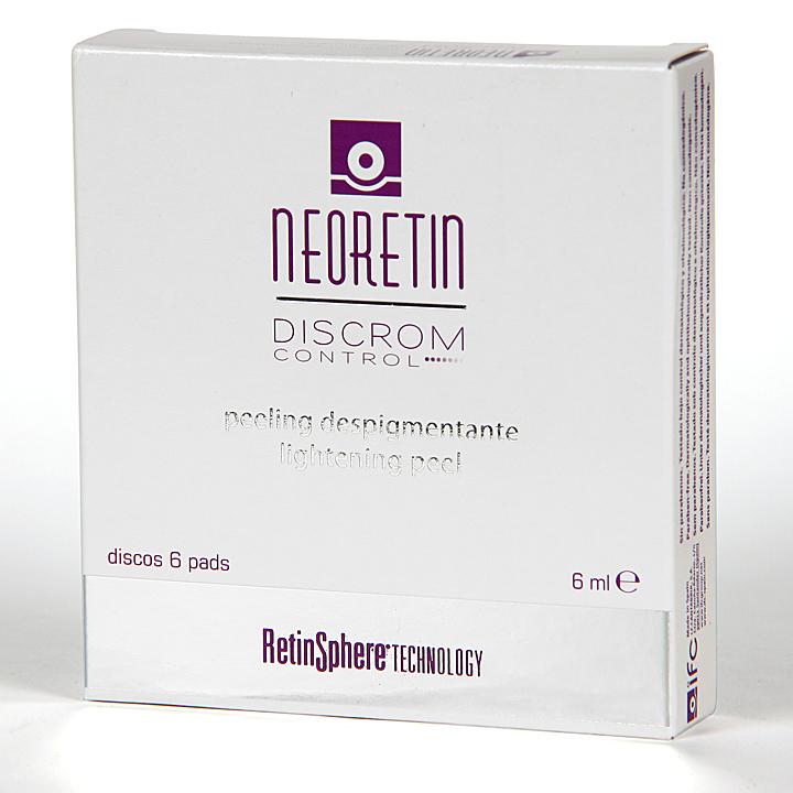 Farmacia Jiménez | Neoretin Discrom Control Peeling Despigmentante 6 discos