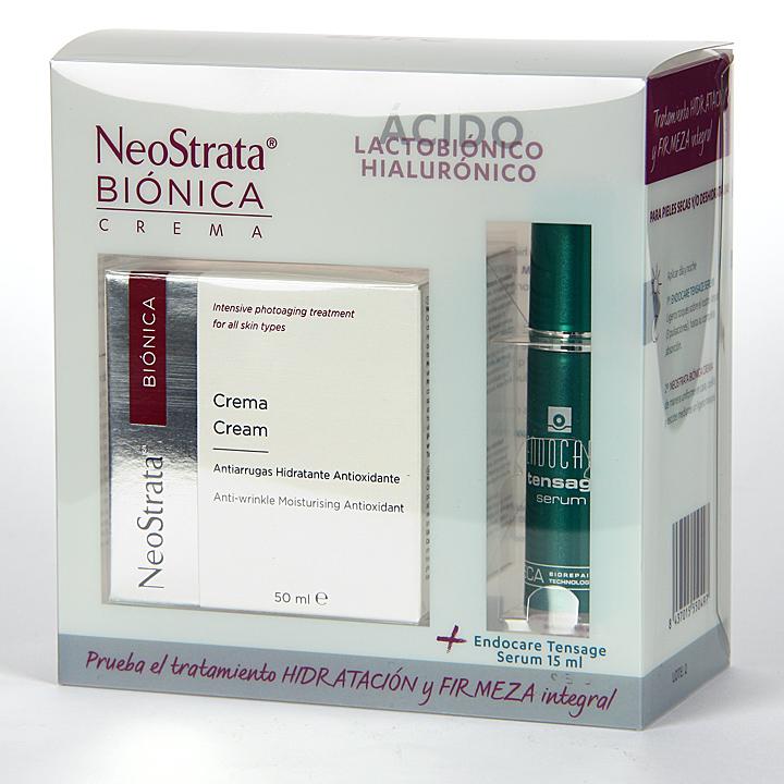 Farmacia Jiménez | NeoStrata Biónica crema 50 ml + Endocare Tensage Serum 15 ml Gratis Pack
