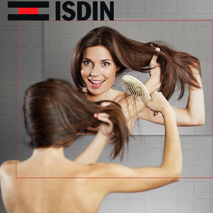 Frena la caída del cabello con Isdin Lambdapil