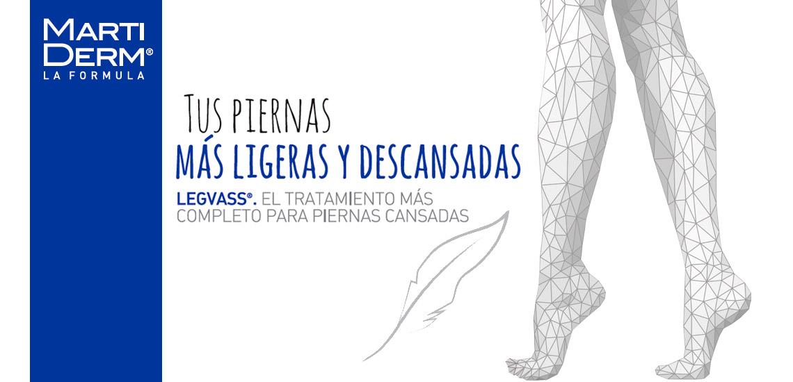 Farmacia Jiménez | Legvass de MartiDerm para piernas cansadas, como si flotaras