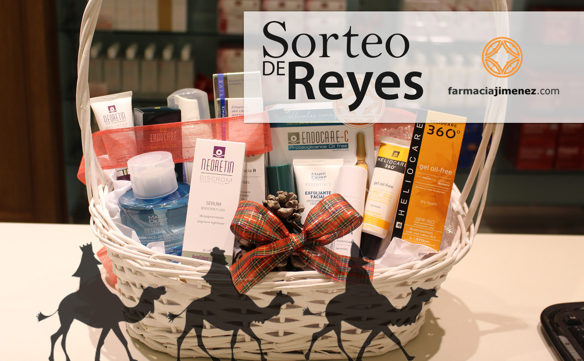 Farmacia Jiménez | Sorteo de Reyes: 2 Rutinas de Belleza personalizadas