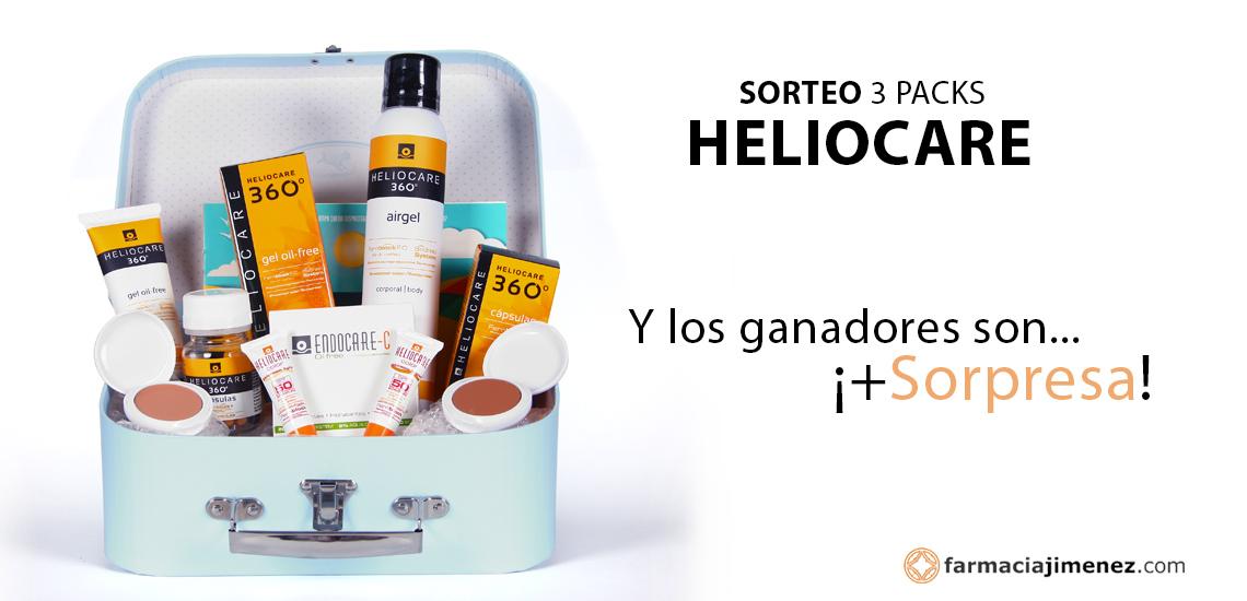 Sorteo Heliocare: Y los ganadores son... + ¡Sorpresa! | Farmacia Jiménez