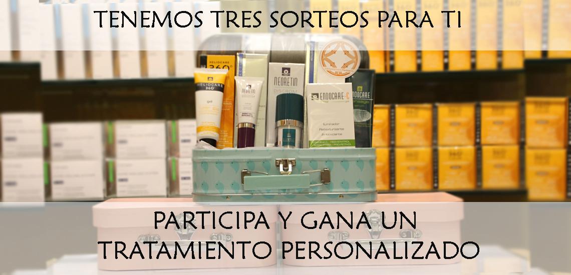SORTEO: ¡Tres Rutinas personalizadas! | Farmacia Jiménez