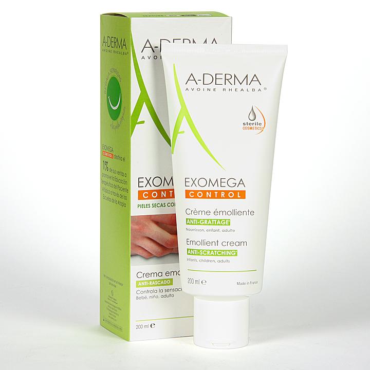 Farmacia Jiménez | A-Derma Exomega Control Crema DEFI 200 ml