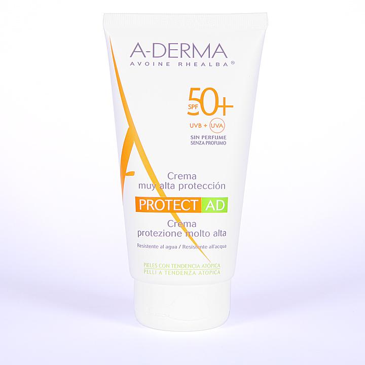 Farmacia Jiménez | A-Derma Protect AD Crema Solar Dermatitis Atópica SPF 50+ 150 ml