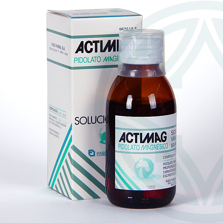 Farmacia Jiménez | Actimag solución oral 100 ml