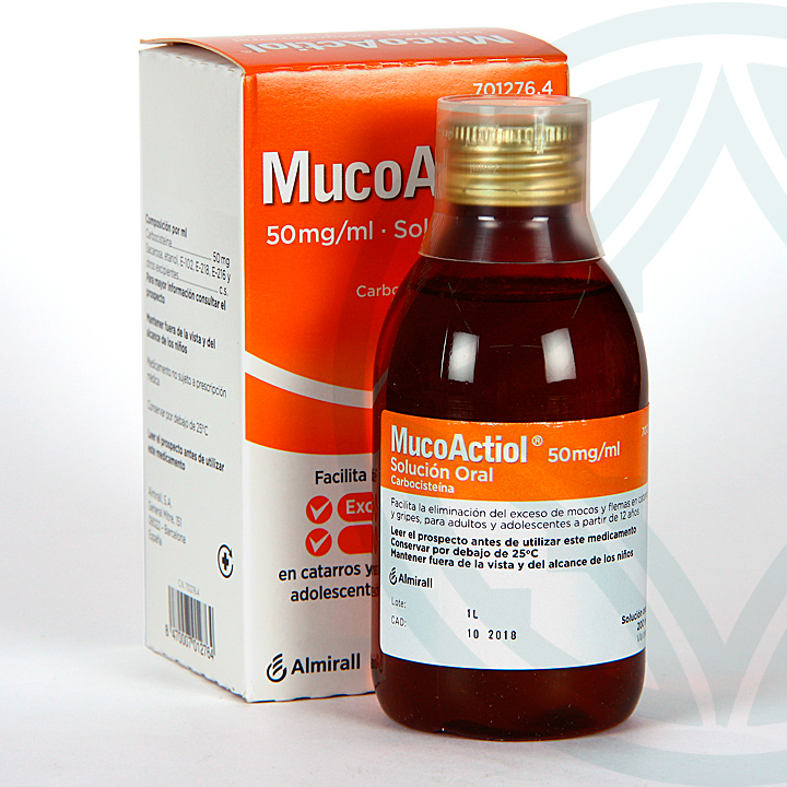 Farmacia Jiménez | Mucoactiol Solución Oral 200 ml