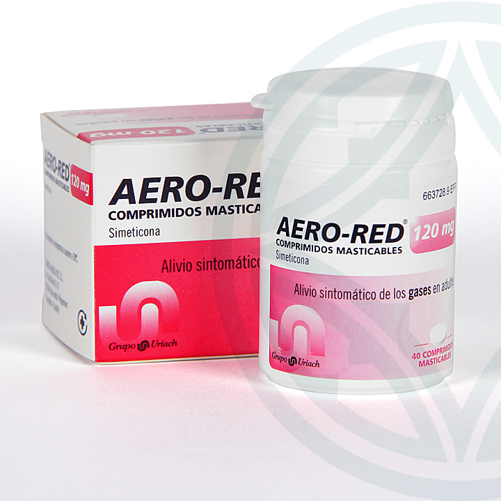 Farmacia Jiménez | Aero-Red 120 mg 40 comprimidos masticables