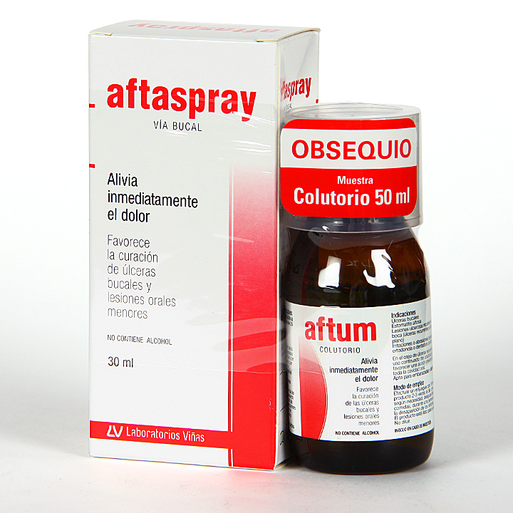 Farmacia Jiménez | Aftaspray llagas bucales 30 ml