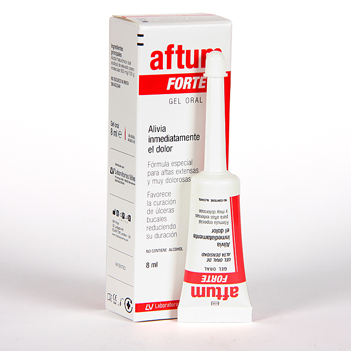 Farmacia Jiménez | Aftum Forte Gel oral 8 ml