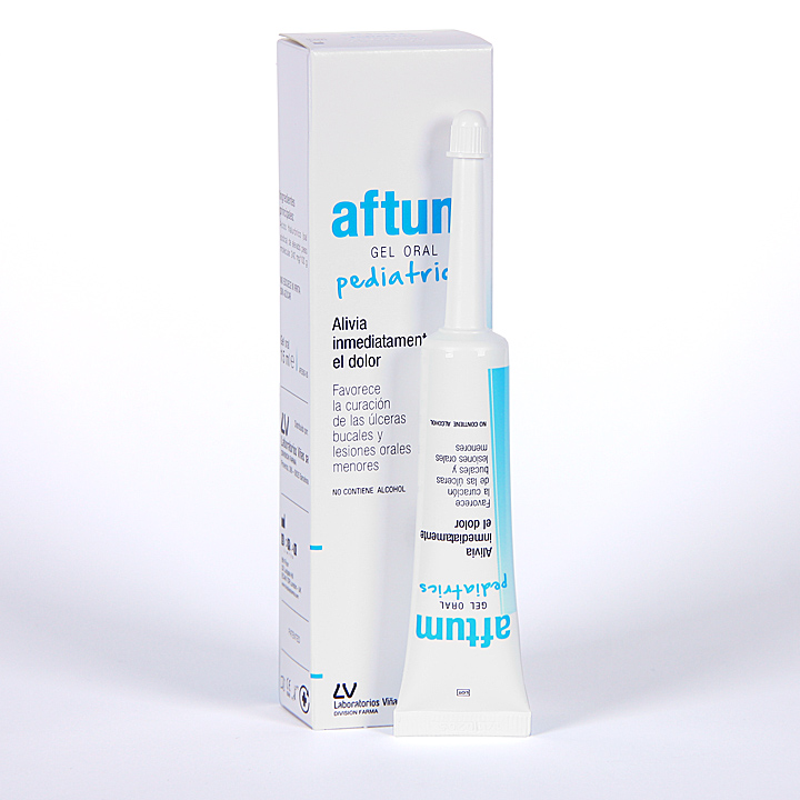 Farmacia Jiménez | Aftum Gel Oral Pediatrics 15 ml