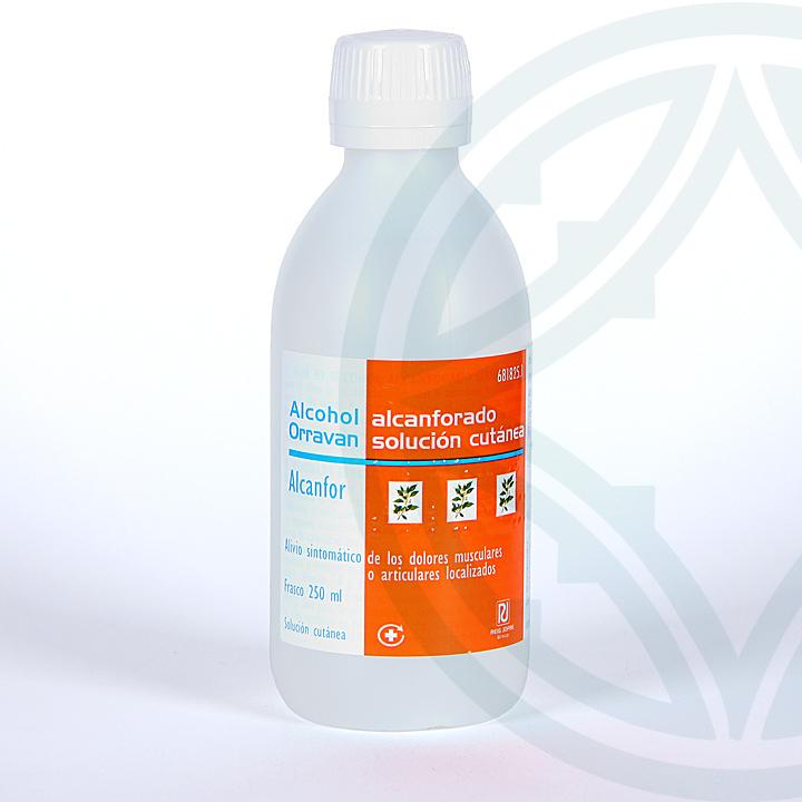 Farmacia Jiménez | Alcohol Alcanforado Orravan solución tópica 250 ml