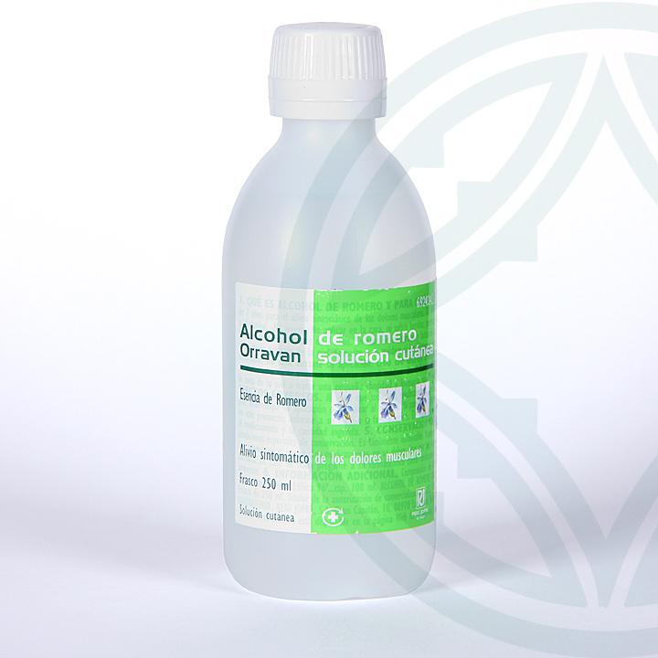 Farmacia Jiménez | Alcohol Romero Orravan solución cutánea 250 ml