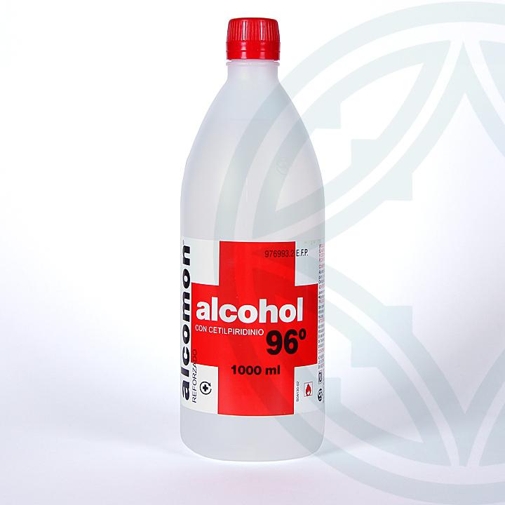 Farmacia Jiménez | Alcohol Alcomon Reforzado 96º solución tópica 1000 ml