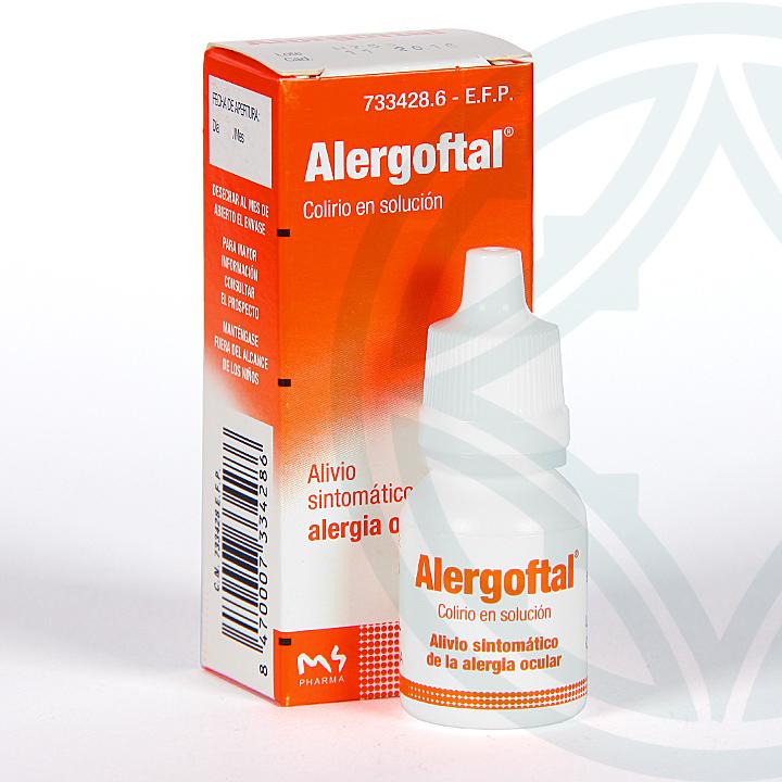 Farmacia Jiménez | Alergoftal colirio 10 ml