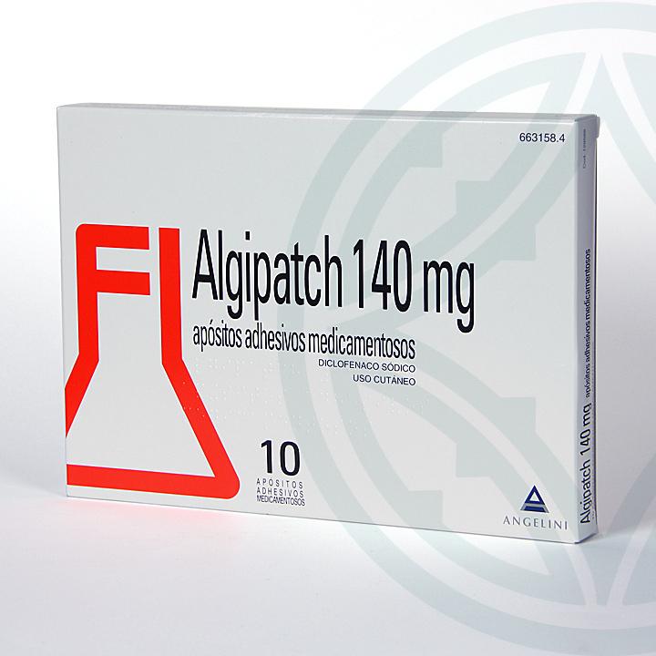 Farmacia Jiménez | Algipatch 140 mg 10 apósitos