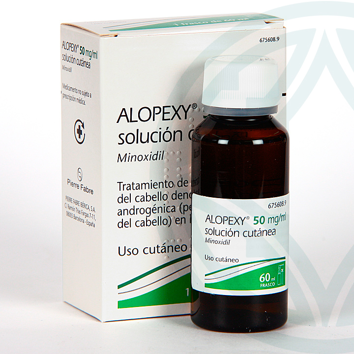 Farmacia Jiménez | Alopexy 50 mg/ml solución tópica 60 ml