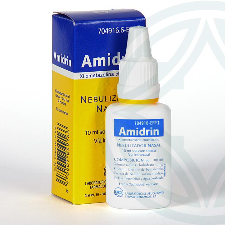Farmacia Jiménez | Amidrin 1mg/ml nebulizador nasal 15 ml