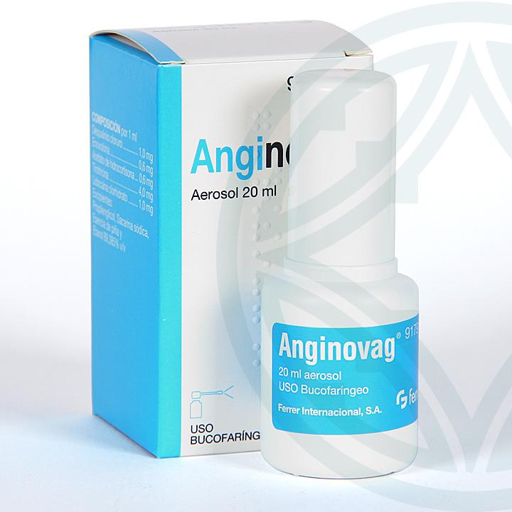 Farmacia Jiménez | Anginovag aerosol 20 ml