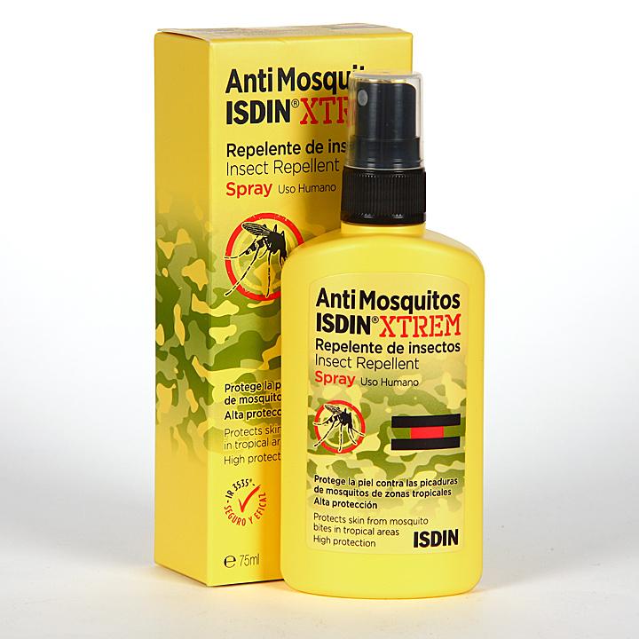 Farmacia Jiménez | Antimosquitos IsdinXtrem Spray Repelente de insectos 75 ml
