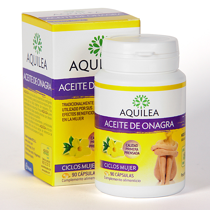 Farmacia Jiménez | Aquilea Aceite de Onagra 90 cápsulas