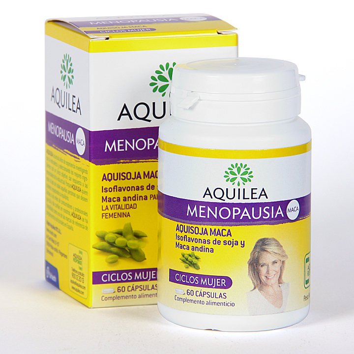 Farmacia Jiménez | Aquilea Menopausia Maca 60 cápsulas