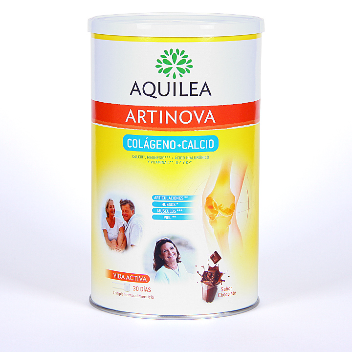 Farmacia Jiménez | Aquilea Artinova Colágeno + Calcio 30 dosis sabor chocolate