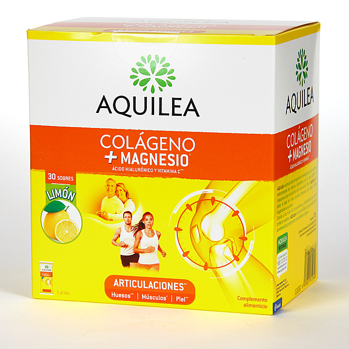 Farmacia Jiménez | Aquilea Articulaciones Colágeno + Magnesio polvo 30 sobres