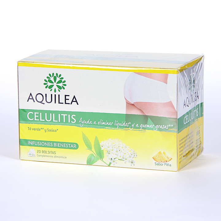 Farmacia Jiménez | Aquilea Celulitis Infusión 20 bolsitas