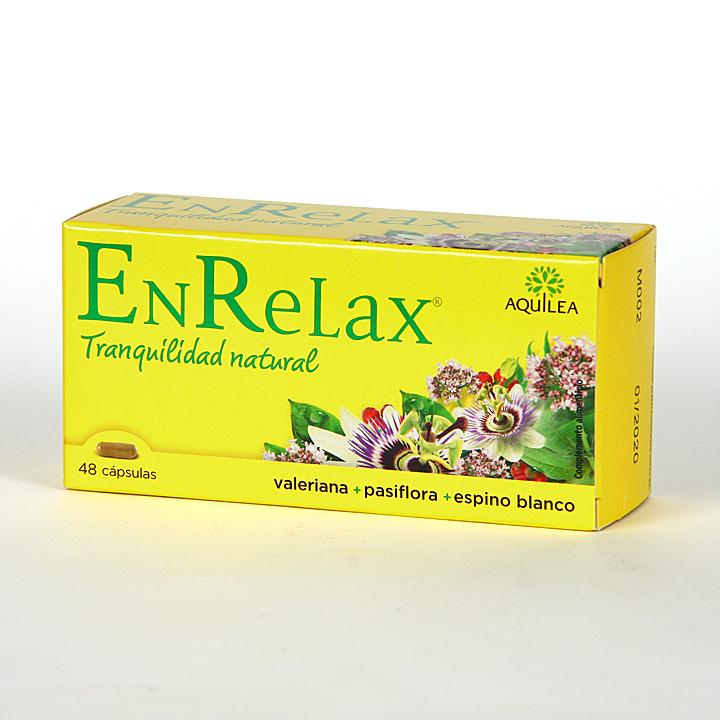 Farmacia Jiménez   Aquilea Enrelax 48 cápsulas