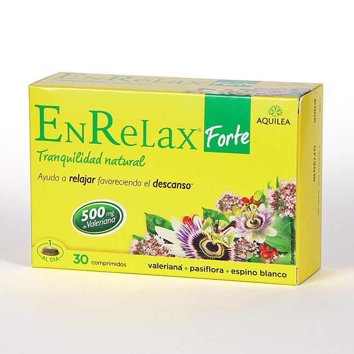 Farmacia Jiménez | Aquilea Enrelax Forte 30 comprimidos