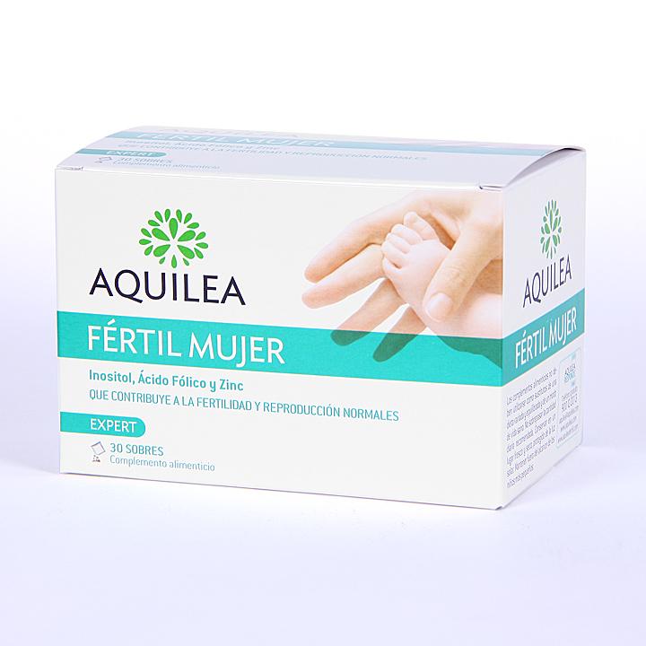 Farmacia Jiménez | Aquilea Fértil Mujer 30 sobres